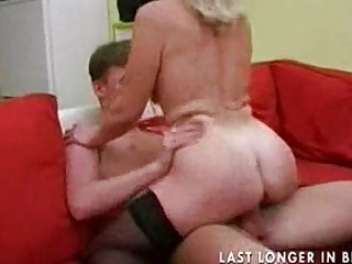granny with saggy tits acquires gang-banged part2