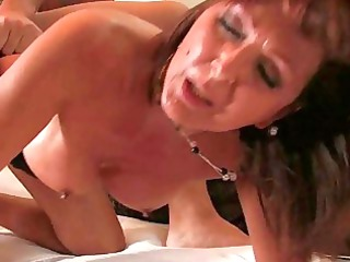 doggy style for woman into the bedroom