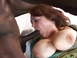 mature grown-up with huge tits acquires pierced