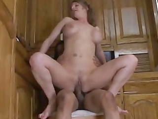 mommy gets a ebony libido on a fu...