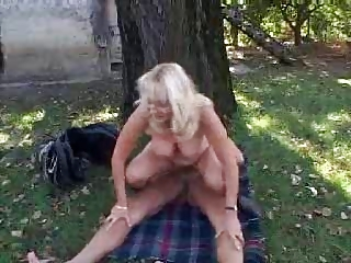 outside elderly