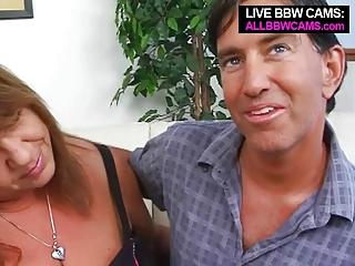 older bbw boob drilling open pussy gang-banging