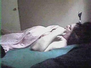 woman solo. hidden cam inside her bedroom