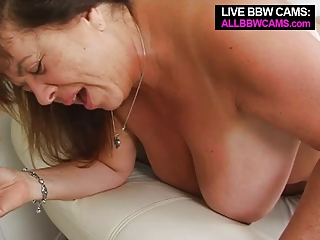 older bbw tit fucking open vagina fucking part 2