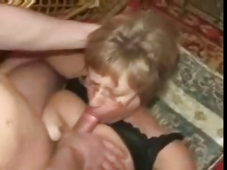 naughty inexperienced older mother