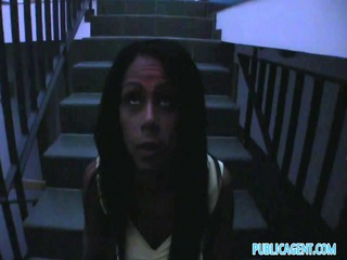 publicagent hd brown hawt girl bonks into her
