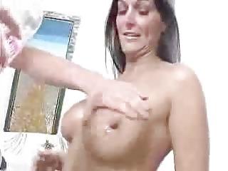 giant boobs lady