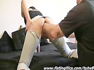 brutally finger fucked young housewife