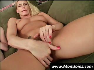 mother and daughter masturbate together and next