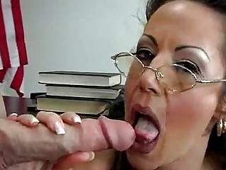sweet lady anjelica lauren takes into a huge