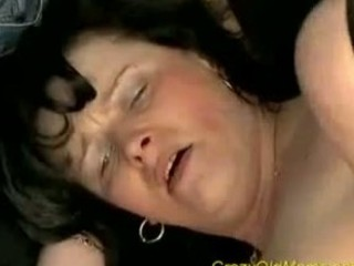 wild old woman acquires drilled difficult sucking