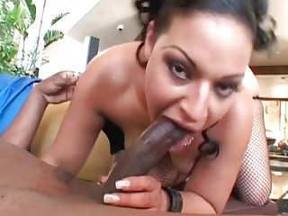 slutty brunette woman roughly fucked by bbc