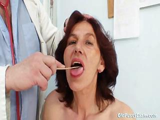 bushy cave grandma visits pervy belle nurse