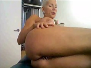 desperate older on cam, with many rings on her