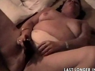 bbw elderly rubbing it nicely