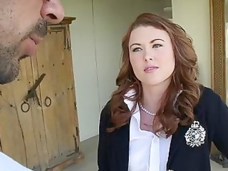 amateur chick cammie fox piercing a grown-up dude