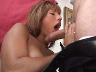 hot latin chick sucks a lollipop dick and takes