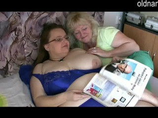 beautiful elderly cougar lesbians
