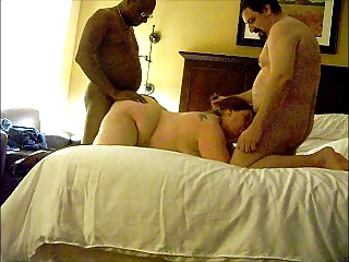 bbw housewife in three people