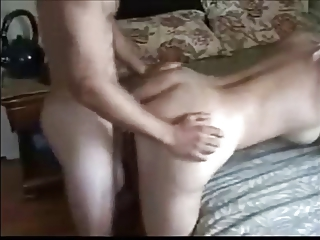gorgeous bleached milf playing anal with more