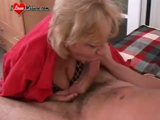 grown-up likes her young fucker