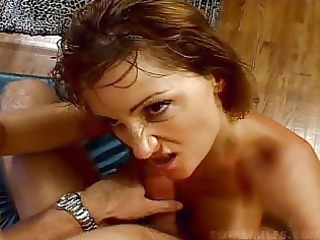 mature red-haired alex fire gets pierced by more