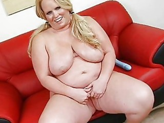 playful tattooed huge momma with big boom pleases