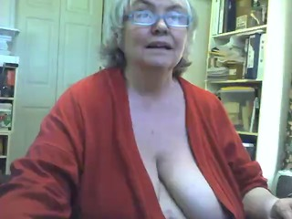 heavy saggy granny obtains exposed and pleases on