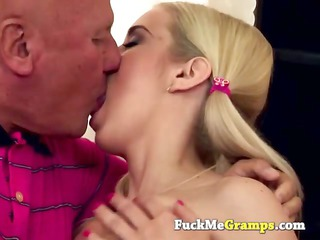 panty sniffing grandpa sucked