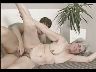 grey haired old threesome