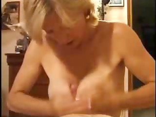 french mature give some experience to amateur boy