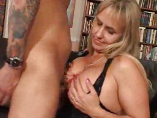 huge boobed milf is glad her fucker came house pt