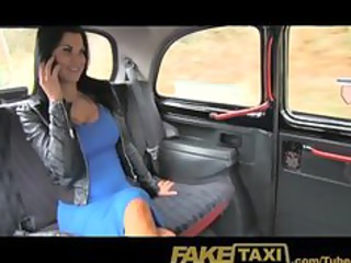 faketaxi exotic stunner inside workplace break