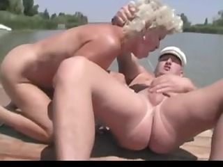 granny porn at the river by troc