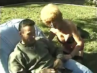 desperate cougar granny piercing public