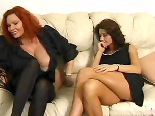 mature moms discuss porn and lick each various