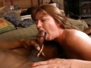 brunette mature girl with wonderful curves licks