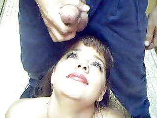 glamorous amateur naughty belle tina worships