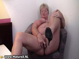 filthy mature housewife spreads part2