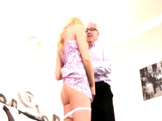 glamorous blonde guy mature porn
