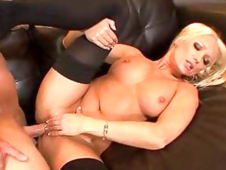 diana babe is a blond chick with big boobs and a