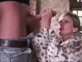 posh european mature slut