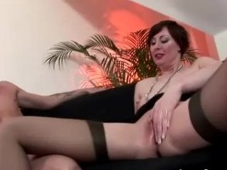 grown-up stockings seduction drilling