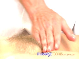 massage rooms grownup girl with hirsute kitty