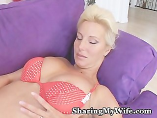 mommy had a new plastic cock