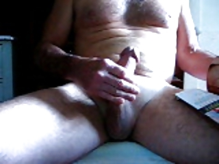 jerking off the old way