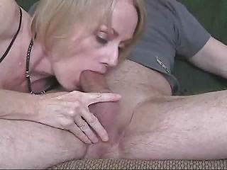 inexperienced cougar woman blowjob facial sextape
