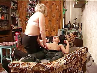 russian mature with her schoolboy