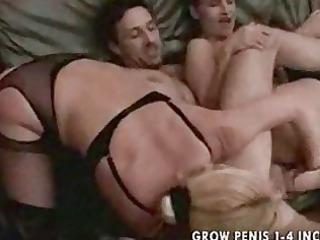 granny and lady into pantyhose bang part2