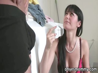 very impressive sweet mature stepmom fucks her